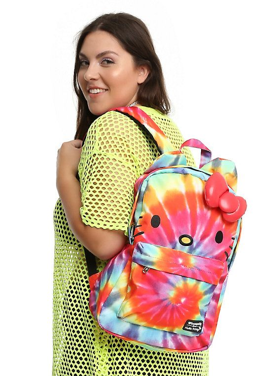 Loungefly Sanrio Hello Kitty Tie Dye Backpack,