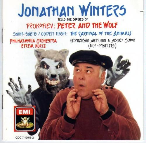 Jonathan Winters Tells the Stories of Peter and The Wolf