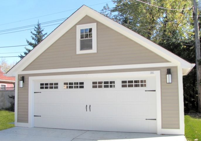 Best 25 garage construction ideas on pinterest tool for Custom garage plans