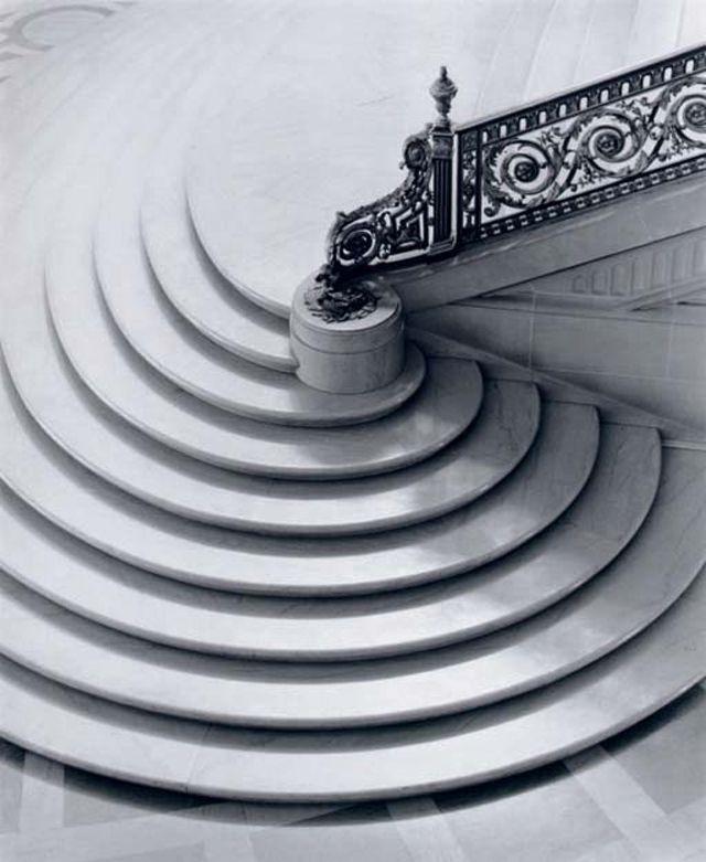 escaliers en spirale
