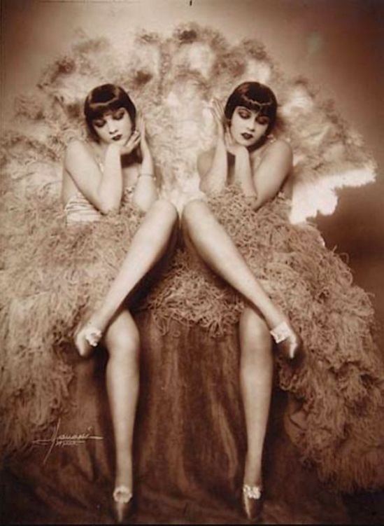 Studio Manassé - portraits of the Dolly Sisters., 1920s