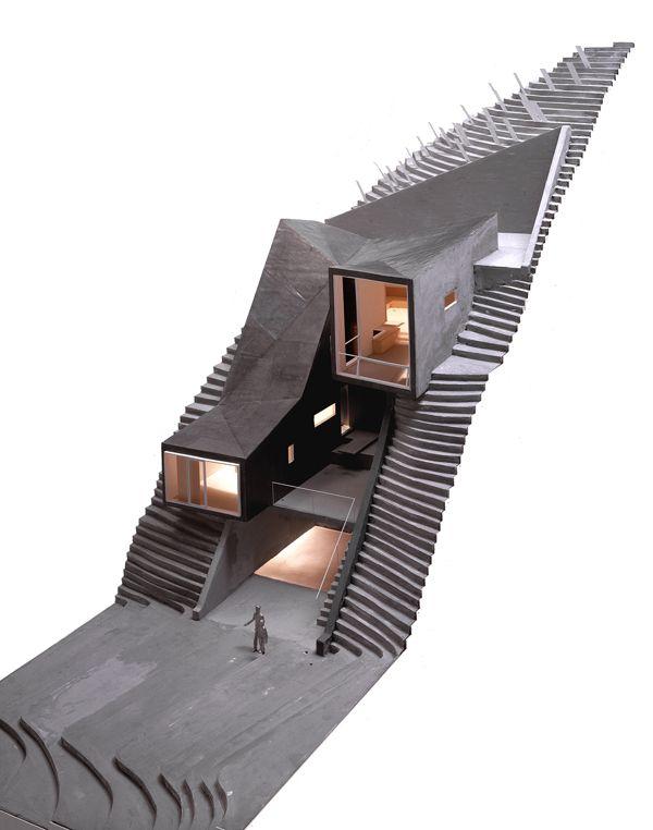 Vail Grant House by Brooks + Scarpa, via Behance