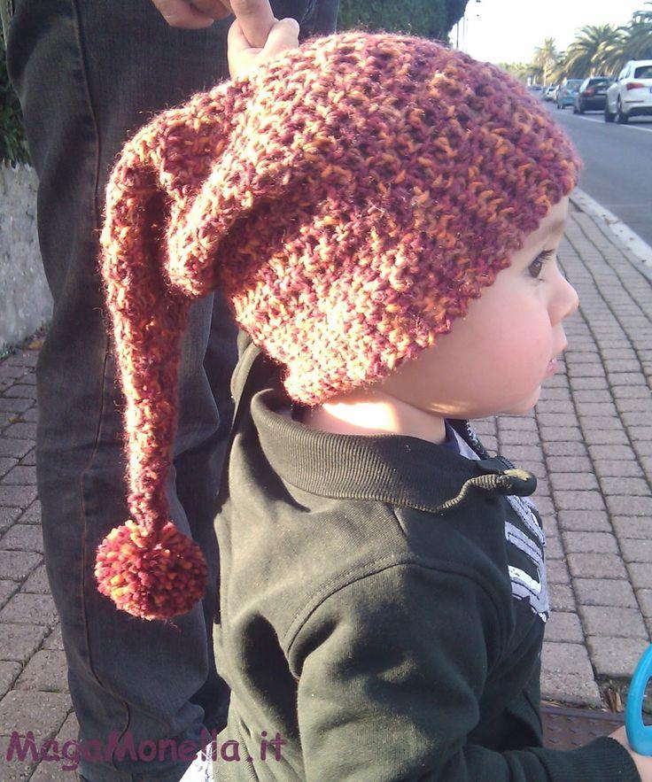 cappello uncinetto da bimbo