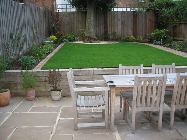 17 best images about garden ideas on pinterest gardens for Small back garden ideas