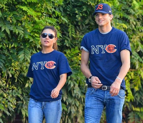 Ashton Kutcher y Mila Kunis, la 'combinación' perfecta #actor #actress #people #celebrity