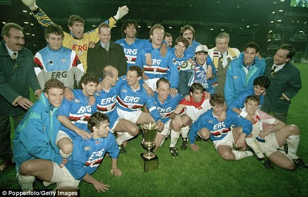 The team also included the likes of Gianluca Pagliuca, Attilio Lombardo and Ruud Gullit