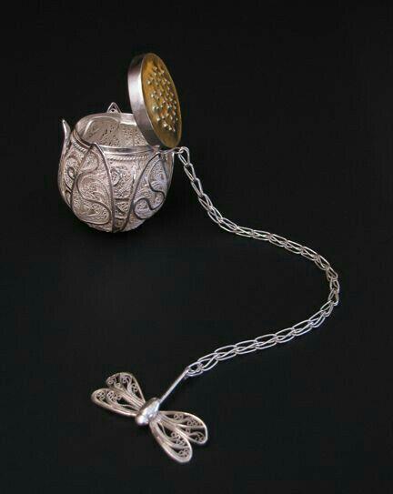 Tea Diffuser; Butterfly Chain...Cute