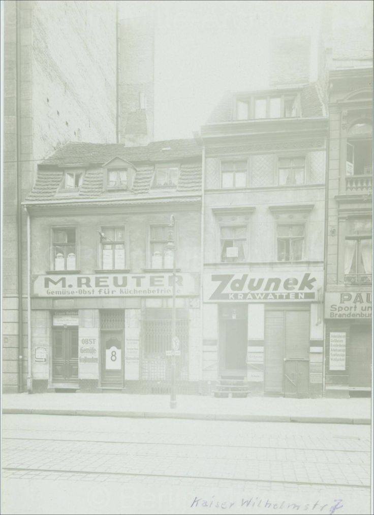 Rosenstraße 8 U. 7, Quelle: BMA