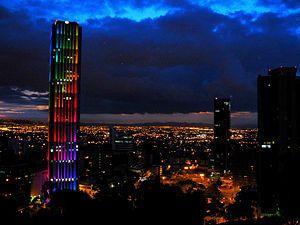 Torre Colpatria  #Bogota, #Colombia #SomosTurismo
