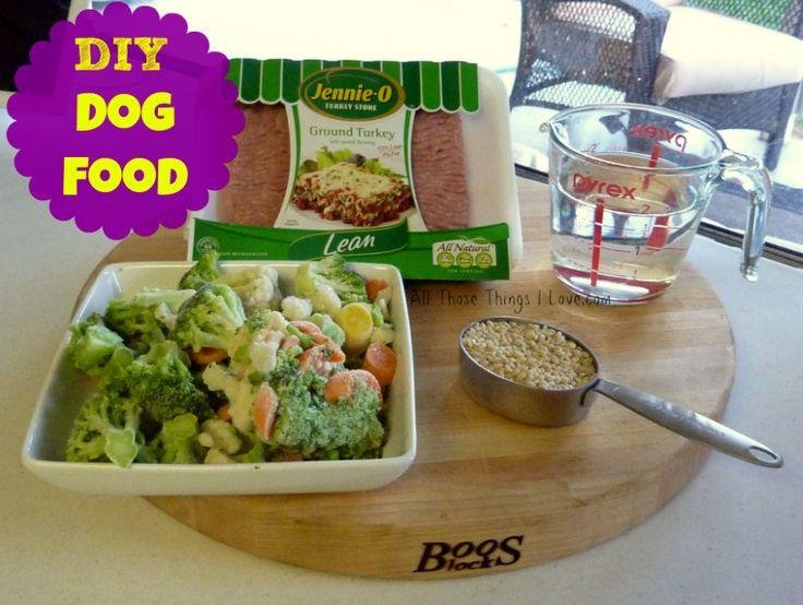 DIY Homemade Dog Food!