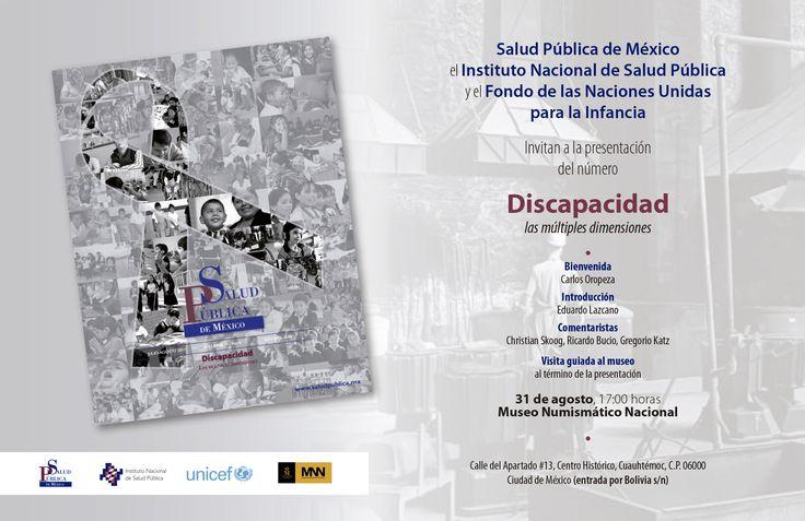 La revista Salud Pública de México presenta el número intitulado Discapacidad: las múltiples dimensiones