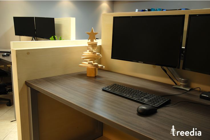 What about having a small treedia tree on your desk ?? Pretty cool..no ?