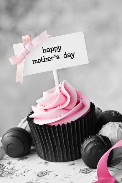 Mothers day cupcake