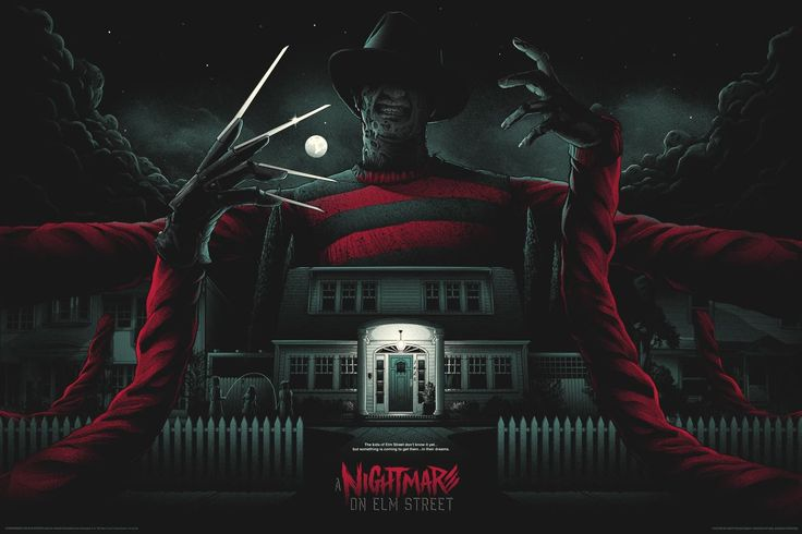 A Nightmare on Elm Street -Mondo, artist Matt Ryan