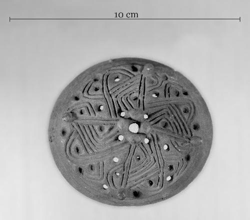 Finnish brooch, 10th century.  Kuva Terhi Nallinmaa-Luoto 1974