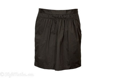BANANA REPUBLIC Brown Tulip Skirt Size 8 at http://stylemaiden.com