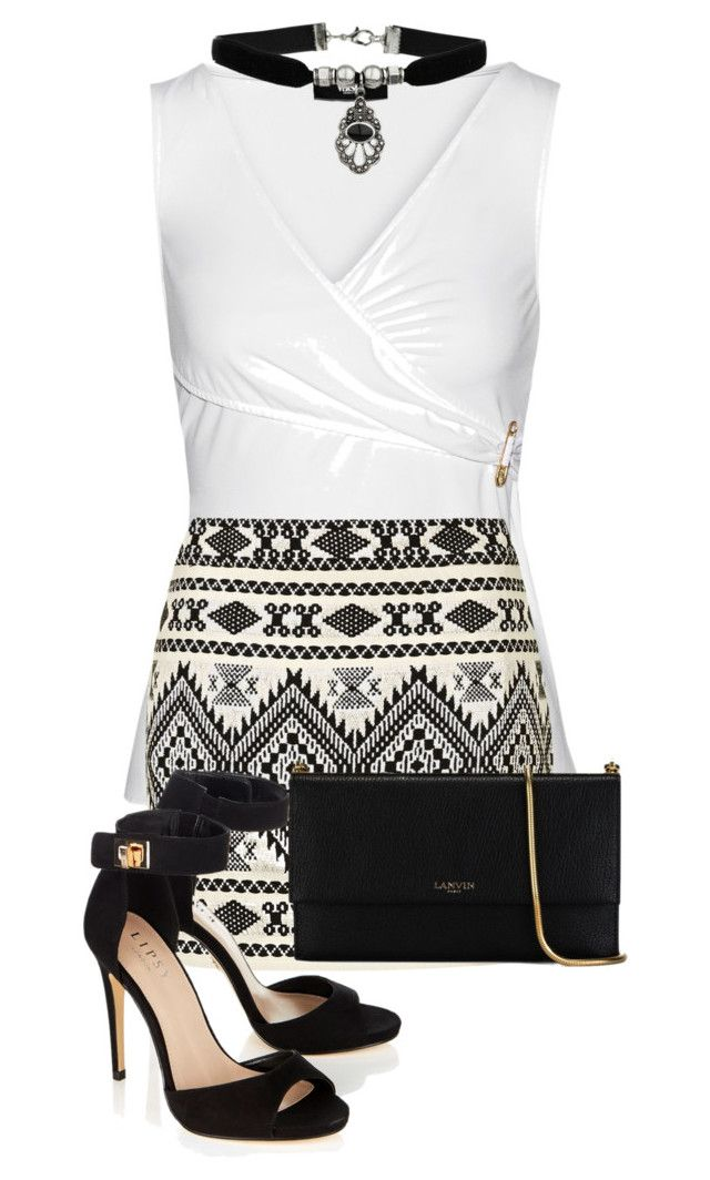 """Simply black&white"" by kdorisz on Polyvore"
