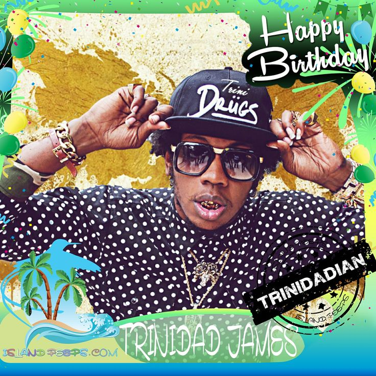 Happy Birthday Trinidad James!!! Hip Hop recording artist born of Trinidadian descent!!! Today we celebrate you!!! @TrinidadJamesGG #TrinidadJames #islandpeeps #islandpeepsbirthdays