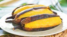 Banane grillen – Obst auf dem Grill