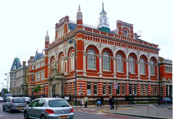 Leyton Town Hall, by John Johnson
