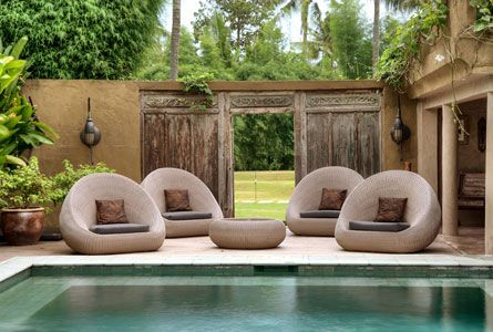 Eclectic interior ~ Hippy chic get away Villa Balquisse, Jimbaran, Bali