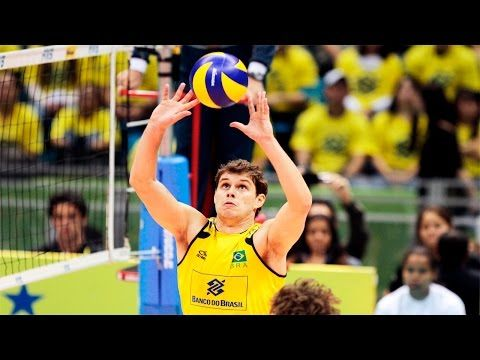 The best volleyball setter in the world - Bruno Rezende - YouTube