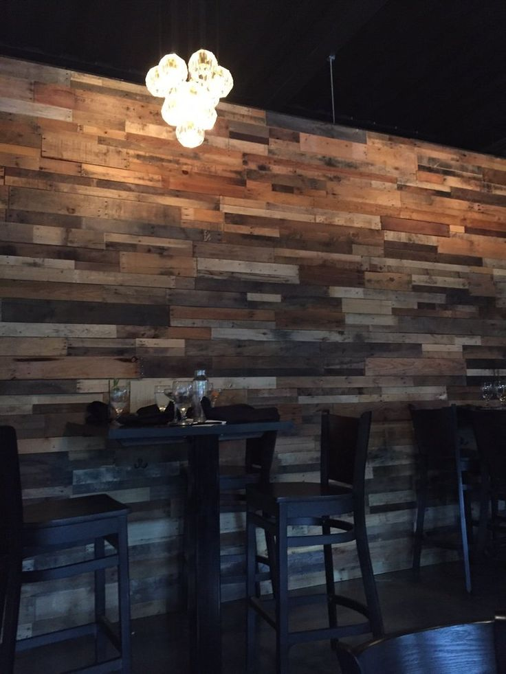 1000 Images About Reclaimed Pallet Wood Walls On