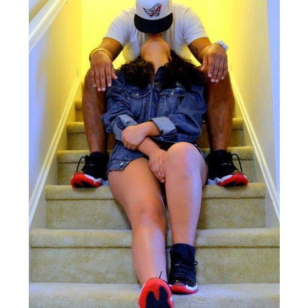 Cute Couples Kissing Dope Swag ❤ liked on Polyvore featuring couples, cute couples, pics, people and pictures