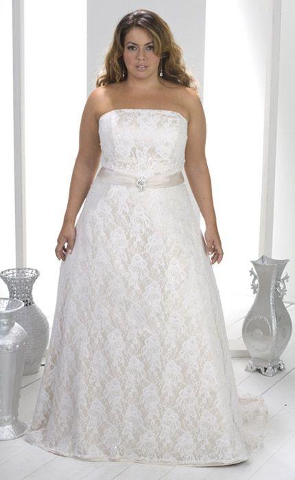 Vestidos para matrimonio civil para gorditas con pinceladas de color en tu vestido de novia