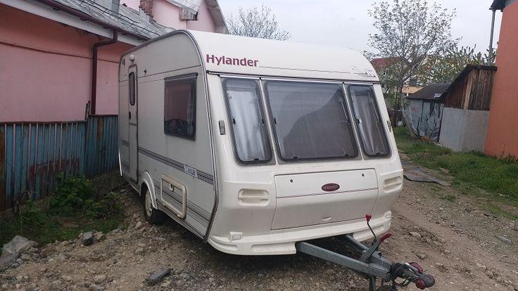 Vand in Craiova rulota Hylander Design 380, adusa din Olanda,fabricata in anul 1998,cu greutate proprie 770 kg si 1000 kg masa maxin admisa.