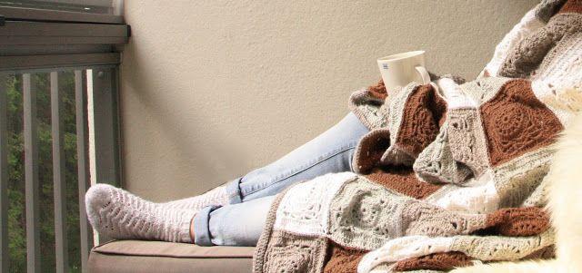 Tuntematon Tuunaaja: Pajuneliöviltti // Crochet blanket