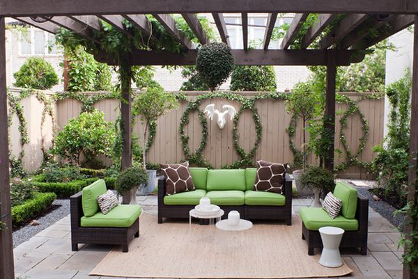 Vine-Covered Walls Let You Enjoy The Outdoors For The Best Part Of The Year