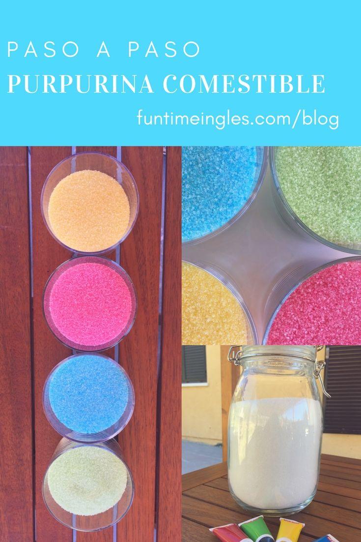 Purpurina casera comestible! Sí, así es: un tutorial explicando paso a paso cómo hacer purpurina casera. ¿Te animas?