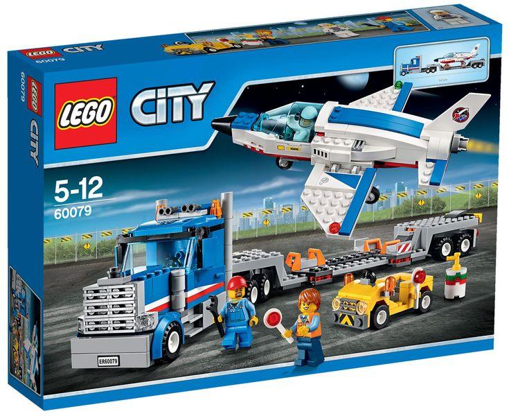 Comparez les prix du LEGO City 60079 Le transporteur d'avion avant de l'acheter ! Infos, description, images, vidéos et notices du LEGO 60079 Le transporteur d'avion sur Avenue de la brique