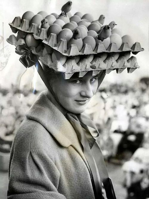 Beatrice was pretty sure she'd win in the Easter Parade...