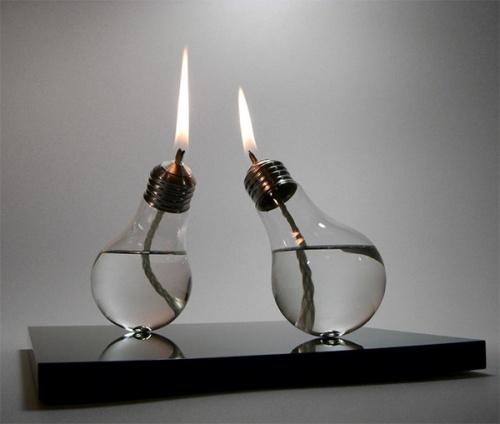 ONTHEINTERNET: September 2009: Lights, Ideas, Candle, Craft, Bulbs, Diy