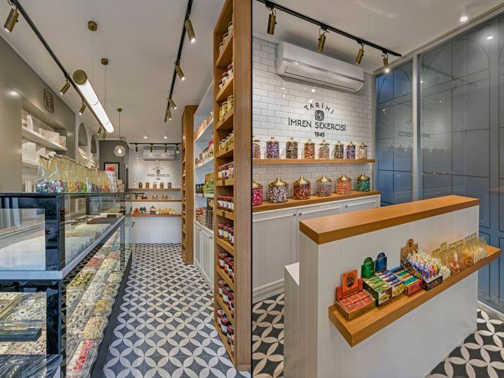 Imren Sweet Shop By Kst Architecture Interiors Antalya Turkey Retail Design Blog