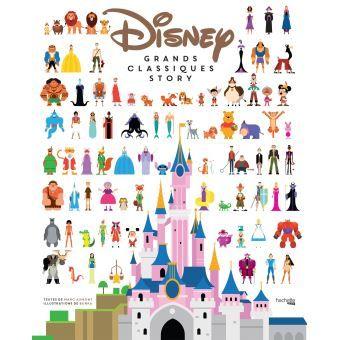 Les grands Classiques Disney en infographie