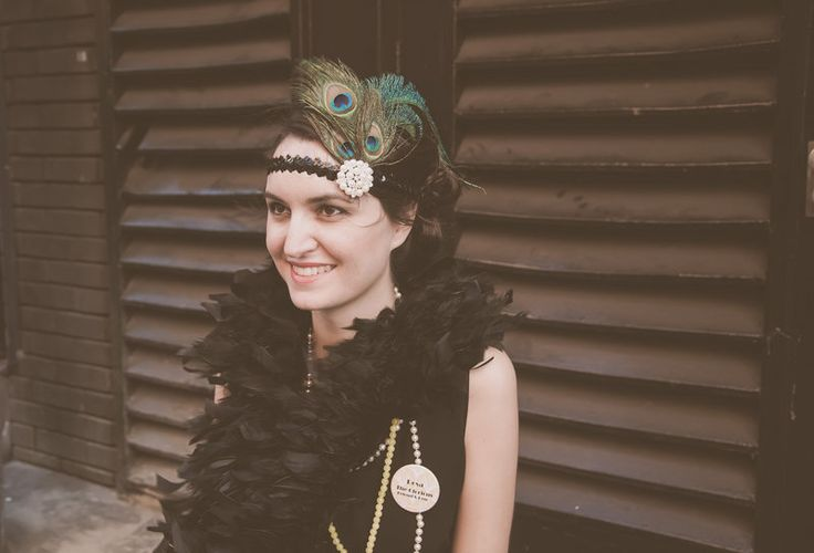 1920s Hen Party crafty fun making glorious headbands #1920scrafthenparties #1920s #1920shenparties