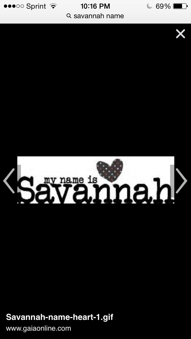33 Best Images About For Savannah On Pinterest Name Wall