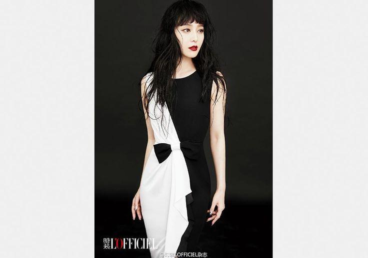Fan Bingbing poses for 'L'Officiel' magazine