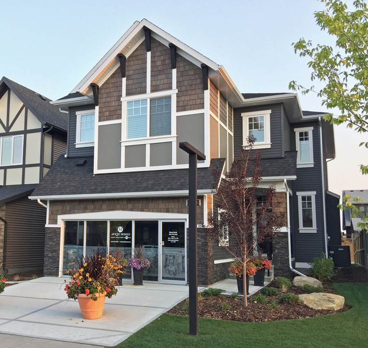 2017 Single Family Front Drive Showhome in Cooper's Crossing  McKee Homes Ltd. #coopersairdrie
