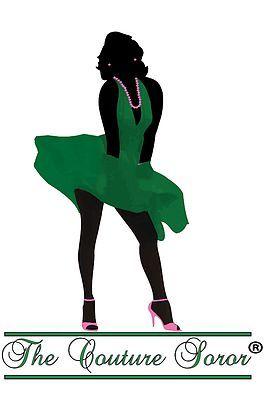 Couture Sorority Apparel for Women of Alpha Kappa Alpha Sorority, Inc. -AKA