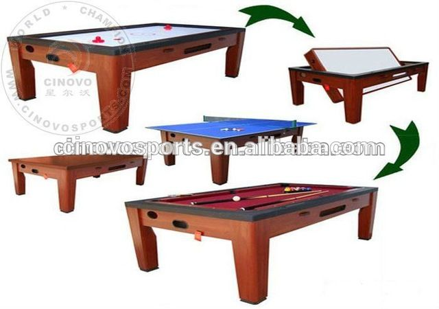 Source Multi Game Table Spin Around Pool Table Air Hockey Table