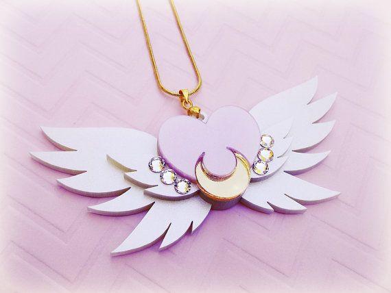 SAILOR MOON eterna Sailor Luna broche collar por ShoujoShop en Etsy