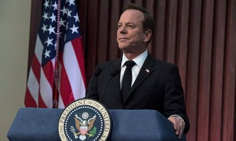 In Designated Survivor, the 24 star is a new US leader thrown in at the deep end. As a second season starts on Netflix, he talks about art imitating life