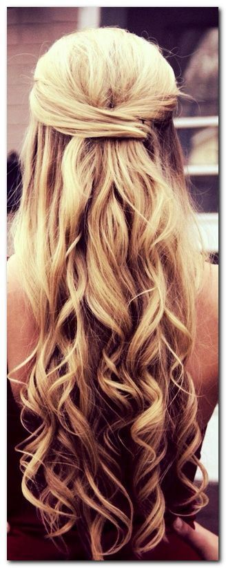 Wedding Hairstyles Half Up and Half Down: How To and 100+ Photos #PromHairstylesStraight