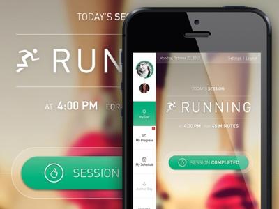 Running app mobile