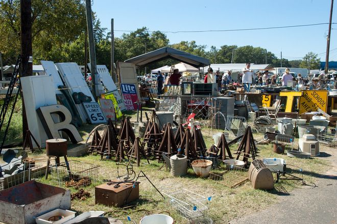 The flea market takes place the Thursday through Sunday before the first Monday of each month in Canton, Texas, 60 miles east of Dallas off ...