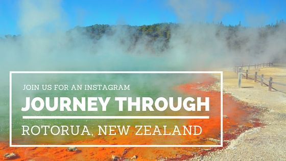 An Instagram journey through Rotorua, New Zealand. A geothermal wonderland and NZ's coolest hotspot! www.theadventureiscalling.com